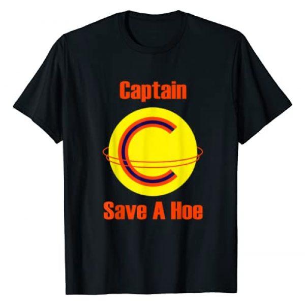 Captain save a hoe shirt for men and women Graphic Tshirt 1 Captain save a hoe shirt for men and women T-Shirt