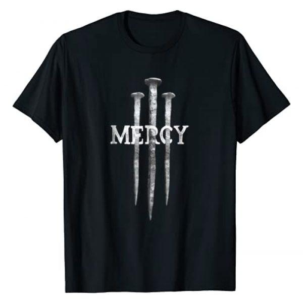 Red Beard Designs Graphic Tshirt 1 3 Nails Mercy Jesus Shirts Christian Tee