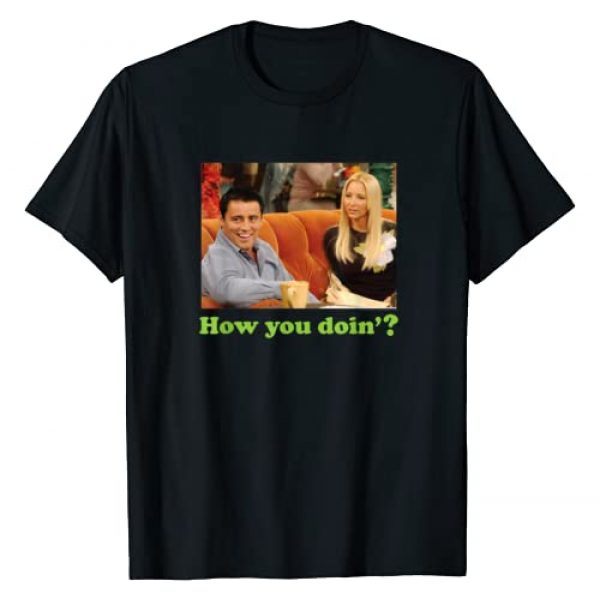 Warner Bros. Graphic Tshirt 1 Friends Joey How You Doin T-Shirt