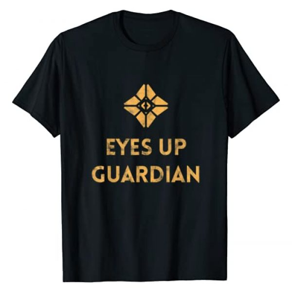 Gamer Raid Gear by PC Graphic Tshirt 1 Ghost: Eyes Up (distressed design) Gamer Tee for Guardians T-Shirt