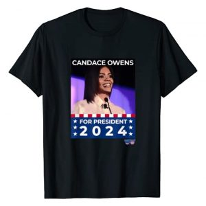 patriotcool Graphic Tshirt 1 Candace Owens For President Patriotic Slogan T-Shirt