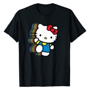 Hello Kitty Graphic Tshirt 1 Rainbow T-Shirt