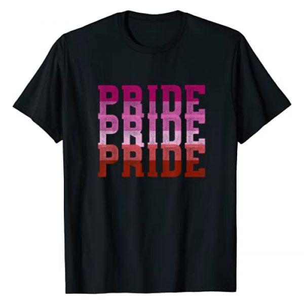 SHIRTSIDE Lesbian Graphic Tshirt 1 Lesbian Pride - Lesbian Pride Lesbian Gift Lesbian Rainbow T-Shirt