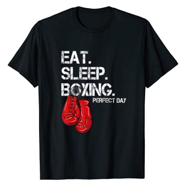 Boxer Love Gifts Graphic Tshirt 1 Funny Eat. Sleep. Repeat. Boxing Lover Perfect Day Gift T-Shirt
