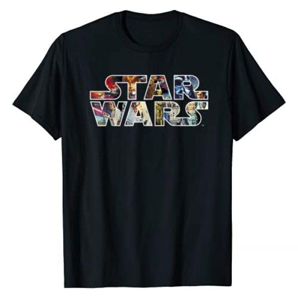 Star Wars Graphic Tshirt 1 Classic Movie Poster Logo Graphic T-Shirt