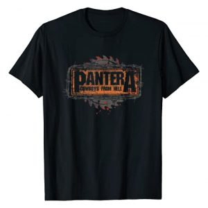 Bravado Graphic Tshirt 1 Pantera Official Cowboys From Hell Saw Logo T-Shirt