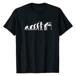 3D Print Job Enthusiast Item Clothes Graphic Tshirt 1 Funny 3D Printing Evolution 3D Printer Joke Gift For Men T-Shirt