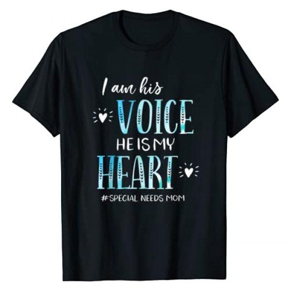 Special Needs Mom Apparel Graphic Tshirt 1 Autism ADHD Down Syndrome CP Mom T-Shirt