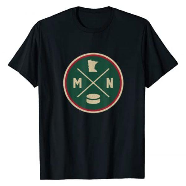 Tout Wear Minnesota Graphic Tshirt 1 Classic Minnesota Hockey MN Outline T-Shirt