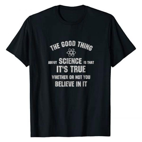 Neil deGrasse Tyson Graphic Tshirt 1 Science Is True T-shirt