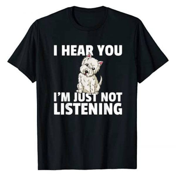 West Highland Terrier Lover Gifts Graphic Tshirt 1 West Highland Terrier Gift Westie Dog T-Shirt