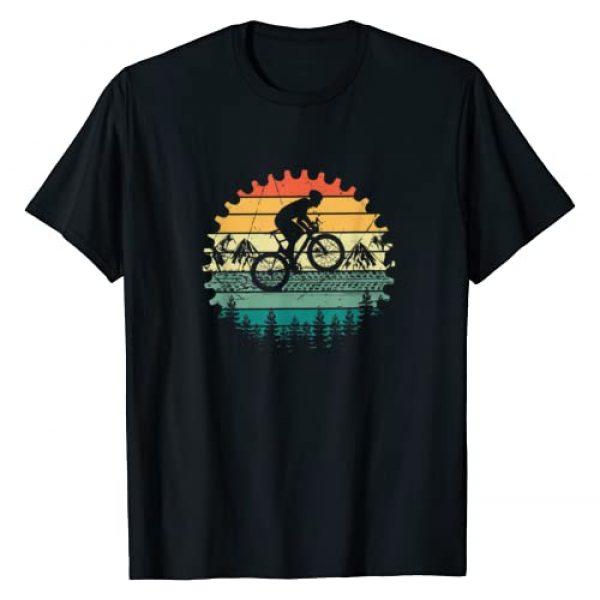 Mountain Biking Gift Graphic Tshirt 1 Vintage Mountain Bike MTB T-Shirt