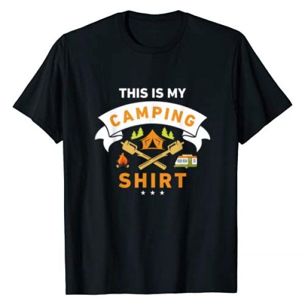 This Is My Camping Shirt Graphic Tshirt 1 Funny Camper T-shirt T-Shirt