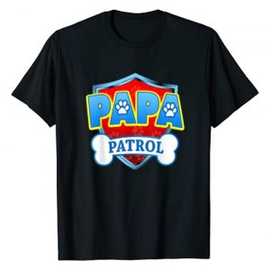 Funny Dog Dad And Dog Mom T-Shirt Graphic Tshirt 1 Funny PAPA Patrol - Dog Mom, Dad For Men Women T-Shirt