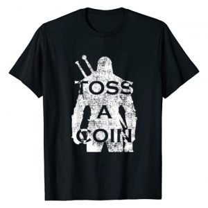 Toss A Funny Gift Graphic Tshirt 1 Funny Men Women Toss A Coin To Your T-Shirt