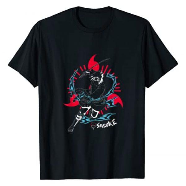 Naruto Graphic Tshirt 1 Shippuden Sasuke Inverted with Sharingan T-Shirt