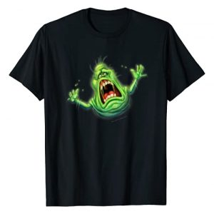 Ghostbusters Graphic Tshirt 1 Slimer Screaming Portrait T-Shirt