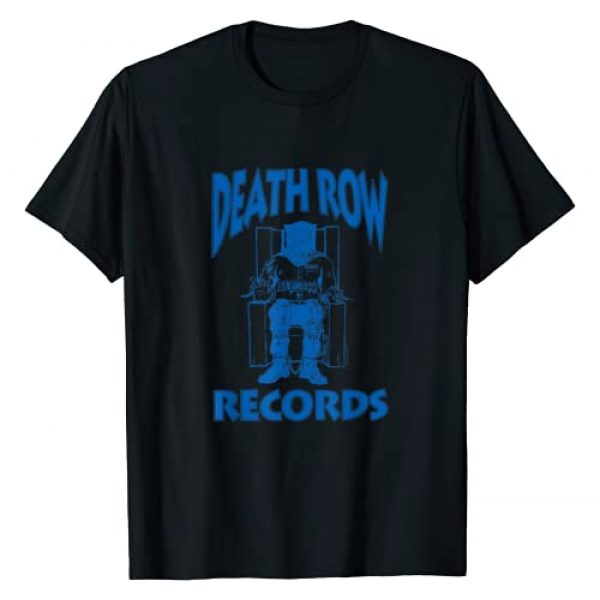 Death Row Records Graphic Tshirt 1 Blue Logo T-Shirt