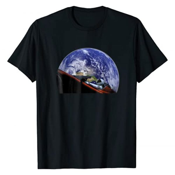 Rockets and New Space Aerospace Apparel Graphic Tshirt 1 Starman Space and Mars Exploration T Shirt