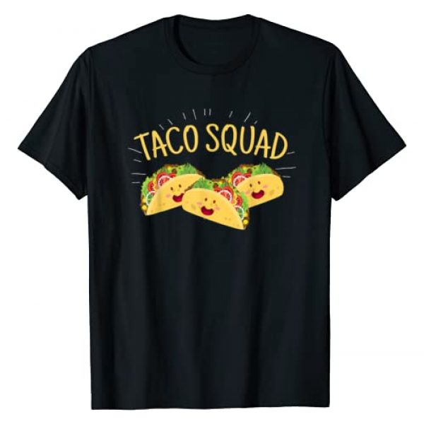 Cinco De Mayo Shirts & Party Apparel Gifts Graphic Tshirt 1 Funny Taco Squad T-Shirt Cute Mexican Food Lover Tee Gift