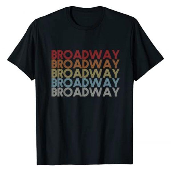 BROADWAY Vintage style Graphic Tshirt 1 Retro BROADWAY Vintage Style Musical Theater T-Shirt