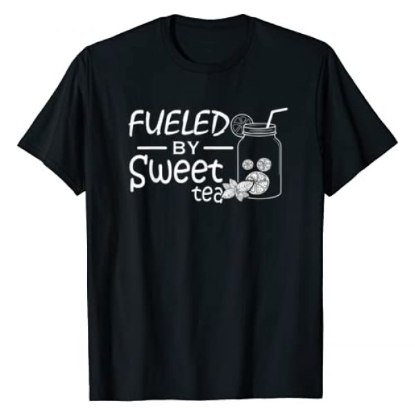 Funny Southern Country Shirts Graphic Tshirt 1 Fueled By Sweet Tea I Funny Southern Country Gift T-Shirt