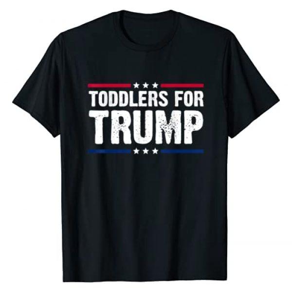 toddlers for trump shirt toddler trump 2020 shirt Graphic Tshirt 1 toddlers for trump shirt toddler trump kids political T-Shirt