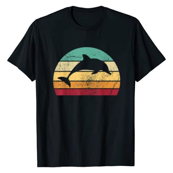 Save The Animal Designs by Augenpulver Graphic Tshirt 1 Save The Dolphin - Endangered Species Gift T-Shirt
