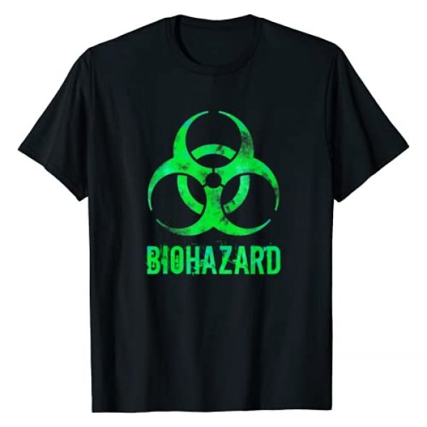 Science and Math Nerds MathWare Graphic Tshirt 1 Grunge Style Biohazard Toxic Distressed Novelty Gift T-Shirt
