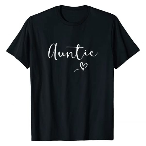 Aunt Birthday Gift Ideas Graphic Tshirt 1 Auntie Gift For Women Aunt Christmas Gifts Aunty Nephew T-Shirt