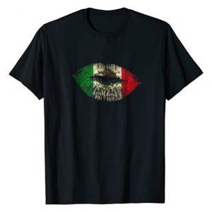 Mexican Shirt Graphic Tshirt 1 Cool Mexican Shirt Mexican Flag Lips Shirt for Mexican Pride