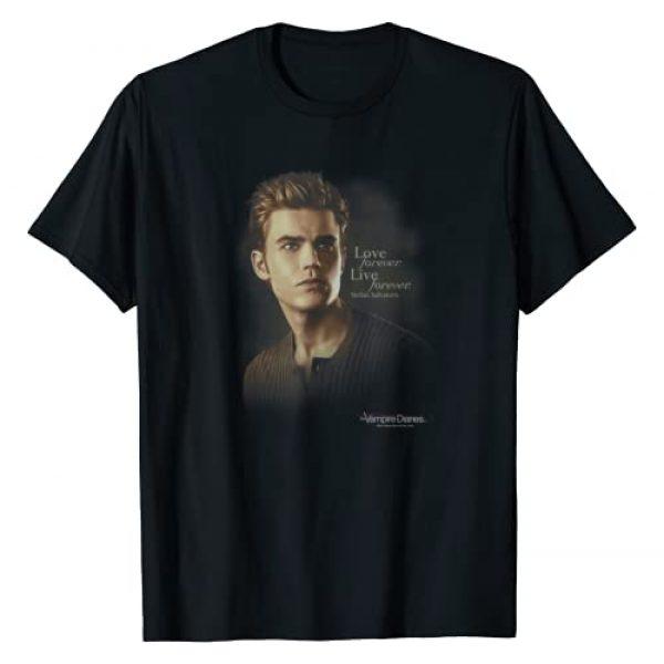 Warner Bros. Graphic Tshirt 1 Vampire Diaries Stefan Forever T-Shirt