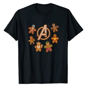 Marvel Graphic Tshirt 1 Avengers Gingerbread Cookies Holiday T-Shirt
