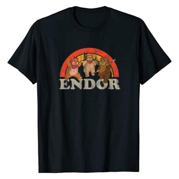 Star Wars Graphic Tshirt 1 Return of the Jedi Cute Ewoks Endor Retro T-Shirt