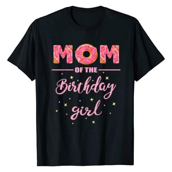 "Donut Party T-Shirts OHM Graphic Tshirt 1 ""Mom of the Birthday Girl""- Family Donut Birthday Shirt T-Shirt"