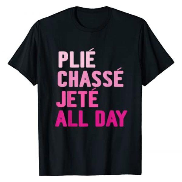 Crazy Cool Extreme Cute Ballerina Gifts And Ideas Graphic Tshirt 1 Ballet Dance Cute Ballerina Dancer Girls Funny Gift Idea T-Shirt