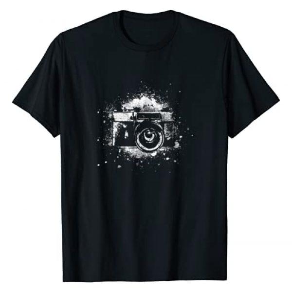 NeoTshirt Graphic Tshirt 1 Photographer T-Shirt Camera Photography Retro Journalist Tee