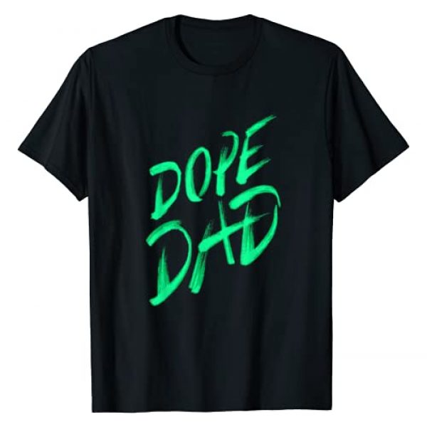 Father's Day Gift Ideas & Apparel Graphic Tshirt 1 Dope Dad I Graffiti Style Father Daddy Gift T-Shirt
