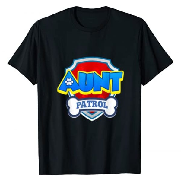 Patrol Collection Graphic Tshirt 1 Aunt Patrol | Dog Funny Gift Birthday Party T-Shirt