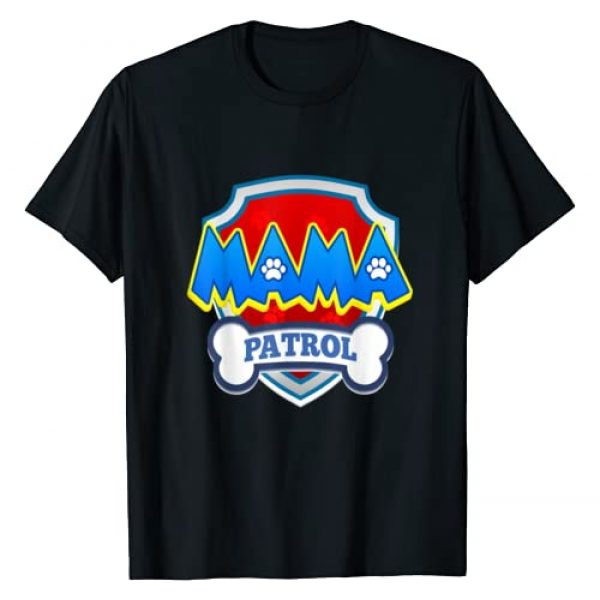 Patrol Collection Graphic Tshirt 1 Mama Patrol   Dog Funny Gift Birthday Party T-Shirt
