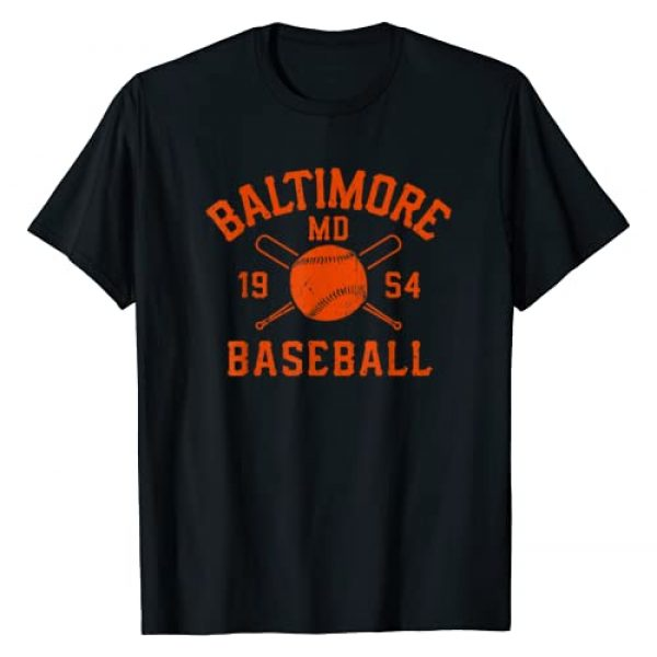 BaltimoreBaseballVintageCo. Graphic Tshirt 1 Baltimore Baseball Vintage Gameday Retro Gift T-Shirt