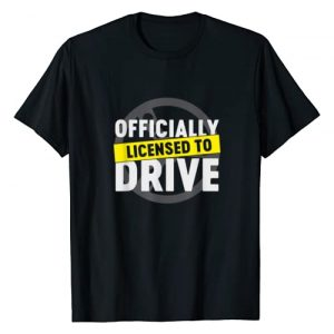 New Drivers License Gift Shirts Graphic Tshirt 1 Licensed To Drive Cool Passed License Test New Driver Gift T-Shirt