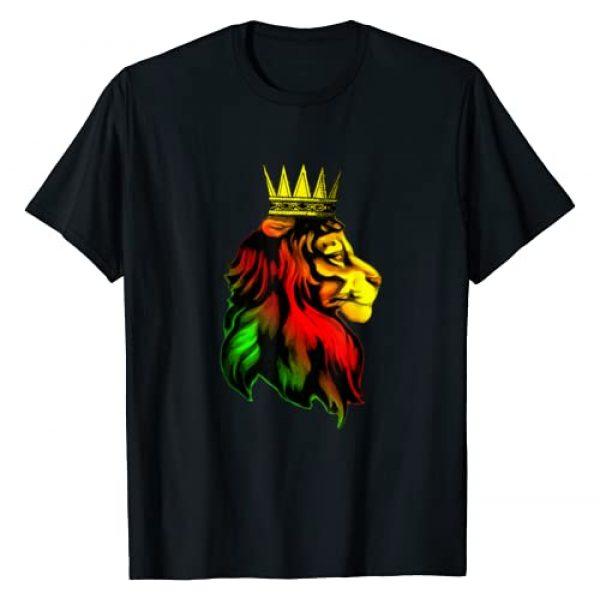 The Awesome Corner Shop Graphic Tshirt 1 REGGAE RASTA LION - Rastafarian - Jamaican - Music T-Shirt
