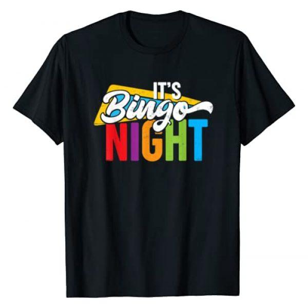 Bingo Player Shirts and Apparel Graphic Tshirt 1 Fun Bingo Night T-Shirt for Bingo Player