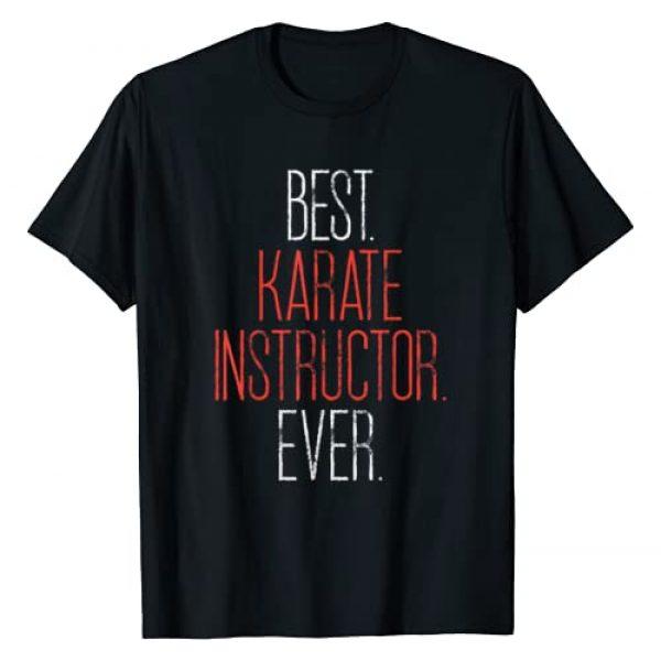 BoredKoalas Karate Shirts Martial Arts Gifts Graphic Tshirt 1 Best Karate Instructor Ever Martial Arts Teacher Sensei Gift T-Shirt