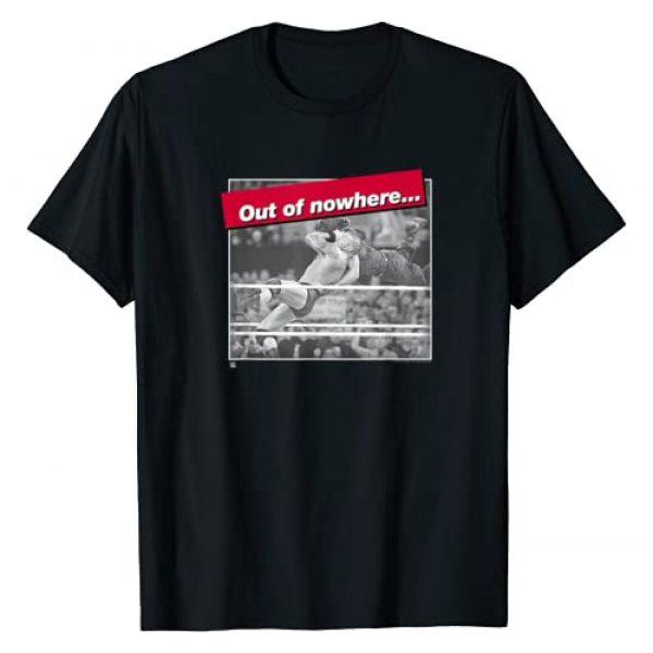 WWE Graphic Tshirt 1 RKO Out Of Nowhere Randy Orton T-shirt