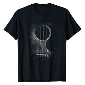 Irregulariteez Acoustic Guitar Graphic Tshirt 1 Acoustic Guitar Player Six String Classic Rock & Roll T-Shirt