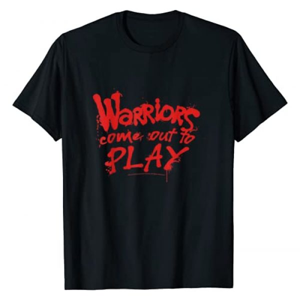The Warriors Graphic Tshirt 1 Come Out To Play Quote T-Shirt