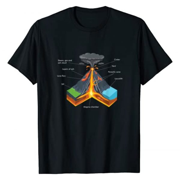 Awesome Geology Volcano Science Puns Graphic Tshirt 1 Volcano Lover Geology Teacher Gift Funny Geologist T-Shirt