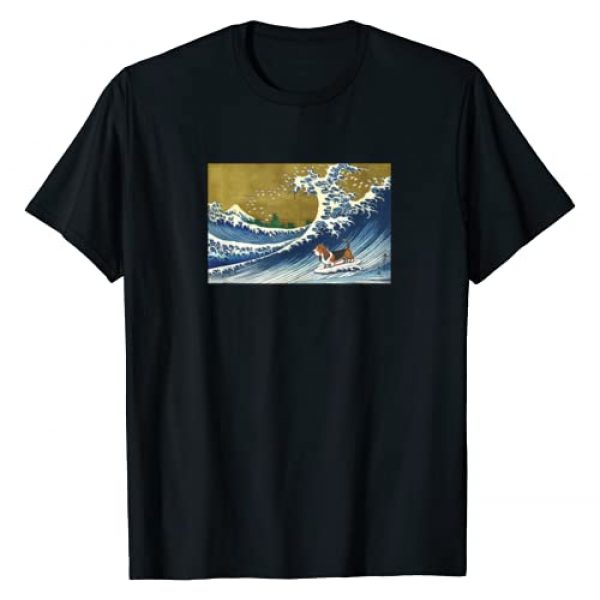 Basset Hound Gifts for Basset Hound Moms Graphic Tshirt 1 Basset Hound Shirt T-Shirt